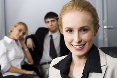 Bossy woman Stock Photography