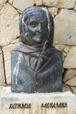 Bost Hariklia Daskalaki, μοναστήρι Arkadi, Κρήτη Στοκ Εικόνα