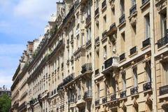 Bostads- arkitektur, Paris Royaltyfri Foto
