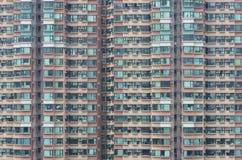 Bostads- byggnad för Highrise Arkivbilder