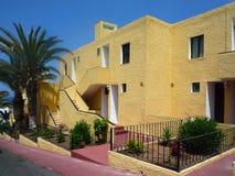 Bostads- byggnad Tenerife Arkivfoto