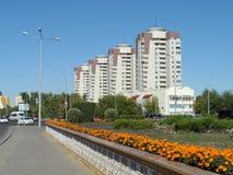 Bostads- byggnader Arkivfoton