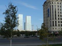 Bostads- byggnader arkivbild