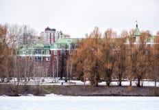 Bostads- byggnader för Minskaya gata Fotografering för Bildbyråer