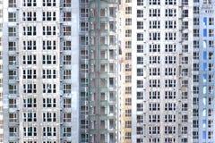 Bostads- byggnader i konstruktion Royaltyfri Bild