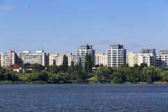 Bostads- grannskap Royaltyfri Bild