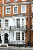Bostads- hus i London Royaltyfri Bild