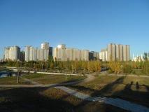 Bostads- komplexa Highvill i det presidents- parkerar arkivfoton