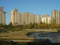 Bostads- komplexa Highvill i det presidents- parkerar arkivbilder