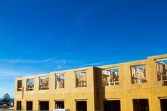 Bostads- lägenhet, andelslägenhetkonstruktion Arkivbilder