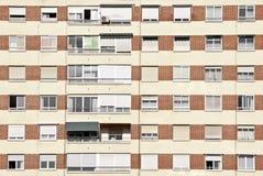 Bostads- lägenheter Arkivbild