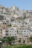 Bostads- neighbourhood i Betlehem, Palestina royaltyfri foto
