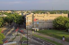 Bostads- område i Lublin, Polen Royaltyfria Bilder