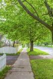 Bostads- trottoar Royaltyfri Fotografi