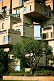 bostadsarkitektur Fotografering för Bildbyråer