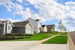 bostadsgrannskap Fotografering för Bildbyråer