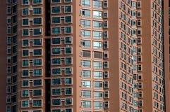 bostadskinesisk stad för byggnader royaltyfri foto