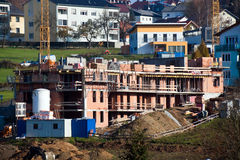 bostadskonstruktion Royaltyfria Bilder