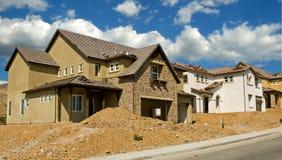 bostadskonstruktion Arkivbild