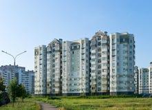 bostadsområdeshus Arkivfoto