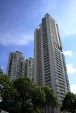 bostadssingapore Royaltyfria Foton
