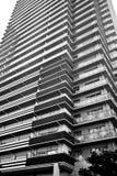 bostadsstigning för lägenhet high Arkivfoto