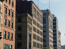 bostonów ulica tremont stare budynki Zdjęcia Royalty Free