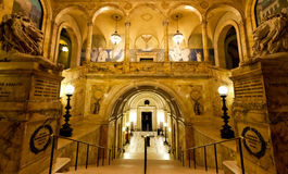 Boston-öffentliche Bibliothek Lizenzfreies Stockfoto