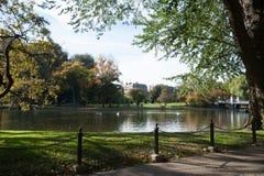 boston садовничает публика Стоковые Изображения