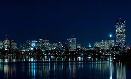boston 1 linia horyzontu Zdjęcia Royalty Free