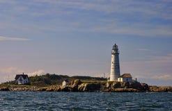маяк boston Стоковое фото RF