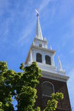 Boston. The Old North Church, Boston Royalty Free Stock Photography