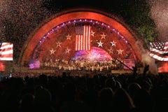 Boston 4ème de célébration de juillet images libres de droits