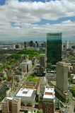 Boston from above Stock Photos