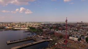 Boston Aerial stock video