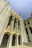Boston alei Zlany kościół metodystów Zdjęcie Royalty Free