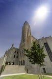 Boston alei Zlany kościół metodystów Obrazy Stock