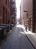 Boston alley Stock Photo