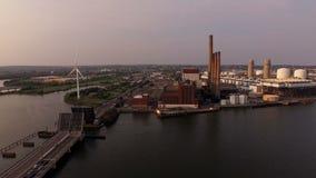 Boston-Antenne stock footage