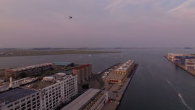 Boston-Antenne stock video footage