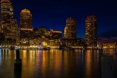 Boston błękit Obraz Royalty Free
