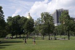 Boston błoń lata widok obraz royalty free