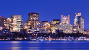 Boston Back Bay Stock Images