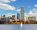 Boston Back Bay Stock Photography