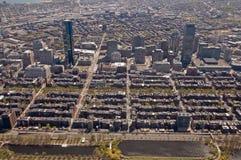 Boston Back Bay aerial Royalty Free Stock Photography