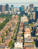 Boston Back Bay aerial Stock Photography