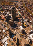 Boston Back Bay aerial Royalty Free Stock Image