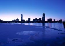 Boston back bay skyline Royalty Free Stock Photography