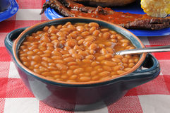 Boston baked beans Royalty Free Stock Photos