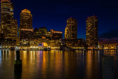 Boston blått Royaltyfri Bild